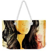 Parchment Beauty Weekender Tote Bag
