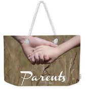 Parents For A Lifetime Weekender Tote Bag