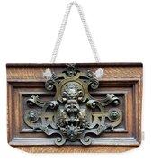 Paris - 19th Century Brass Door Knocker Weekender Tote Bag