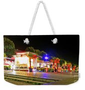 Paris At Night 13 Art Weekender Tote Bag