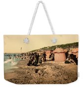 Trouville France Beach - The Good Old Days Weekender Tote Bag