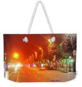 Paris Champs-elysees Weekender Tote Bag