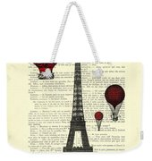 Paris, City Of Love Weekender Tote Bag