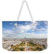 Paris City View 20 B Weekender Tote Bag