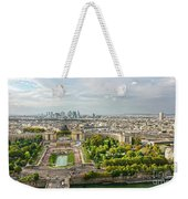 Paris City View 27 Weekender Tote Bag