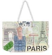 Paris Cityscape- Art By Linda Woods Weekender Tote Bag