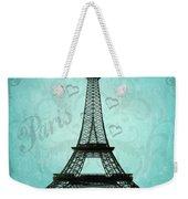 Paris Collage Weekender Tote Bag