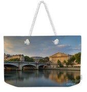 Paris Dawn Weekender Tote Bag