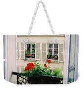 Paris Day Windowbox Weekender Tote Bag