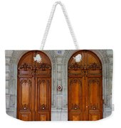 Paris Doors Weekender Tote Bag