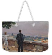 Paris From The Observatory At Meudon Weekender Tote Bag by Jules Ernest Renoux