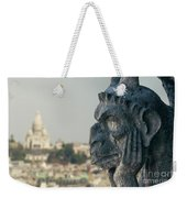Gargoyle Of Paris Weekender Tote Bag