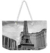 Paris Hotel - Las Vegas B-w Weekender Tote Bag