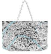 Paris Monumental Weekender Tote Bag