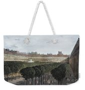 Paris: Palais Royal, 1821 Weekender Tote Bag