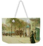 Paris Weekender Tote Bag by Paul Cornoyer