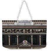 Paris Pool Hall Weekender Tote Bag