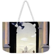 Paris Poster Weekender Tote Bag