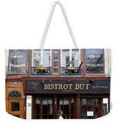 Paris Street Life 2 Weekender Tote Bag