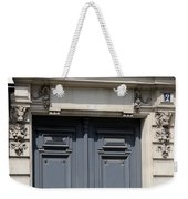 Paris Street Life 3 Weekender Tote Bag