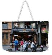 Paris Street Life 4 Weekender Tote Bag