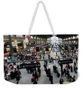 Paris Train Station Weekender Tote Bag