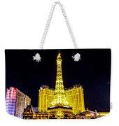 Paris Vegas Weekender Tote Bag