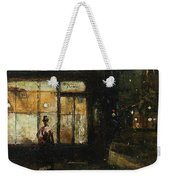 Parisian Boulevard At Night Weekender Tote Bag