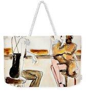 Parisian Cabaret Weekender Tote Bag