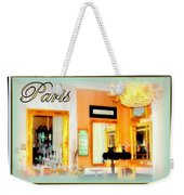 Parisian Salon Weekender Tote Bag