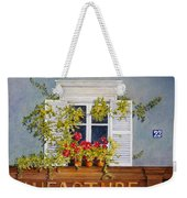 Parisian Window Weekender Tote Bag
