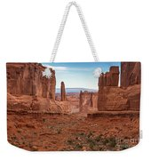 Park Avenue Arches National Park Weekender Tote Bag