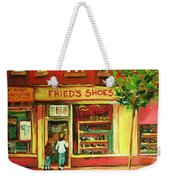 Park Avenue Shoe Store Weekender Tote Bag