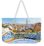 Park Guell Barcelona Weekender Tote Bag