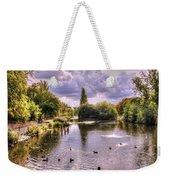 Park Lake Weekender Tote Bag