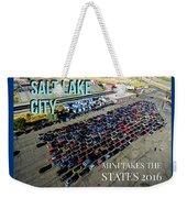 Park / Salt Lake City Rise/shine 1 W/text Weekender Tote Bag