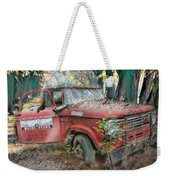 Parked On A Country Road Watercolors Painting Weekender Tote Bag