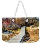 Parker River Nwr Boardwalk Weekender Tote Bag