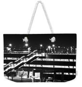 Parking Garage At Night Weekender Tote Bag