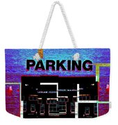 Parking Weekender Tote Bag
