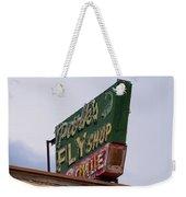 Park's Fly Shop Weekender Tote Bag