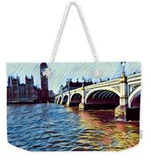 Parliament Across The Thames Weekender Tote Bag