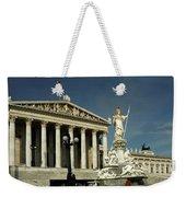 Parliament In Vienna Austria Weekender Tote Bag