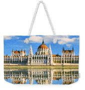 Parliament Of Budapest Weekender Tote Bag