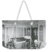Parlour Suite Of Titanic Ship Weekender Tote Bag
