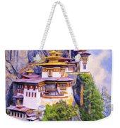 Paro Taktsang Monastery Bhutan Weekender Tote Bag