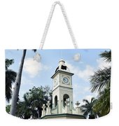 Parque Central Ahuachapan El Salvador Weekender Tote Bag