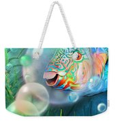 Parrot Fish - Through A Bubble Weekender Tote Bag