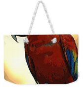 Parrot Watching Weekender Tote Bag