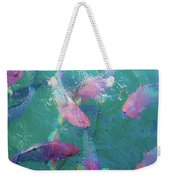 Parrotfish Of The Keys Weekender Tote Bag